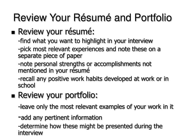 Review Your R