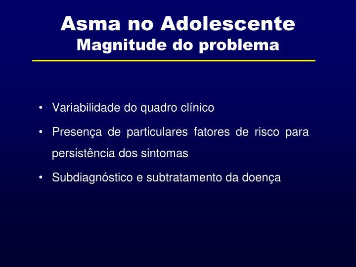 Asma no Adolescente