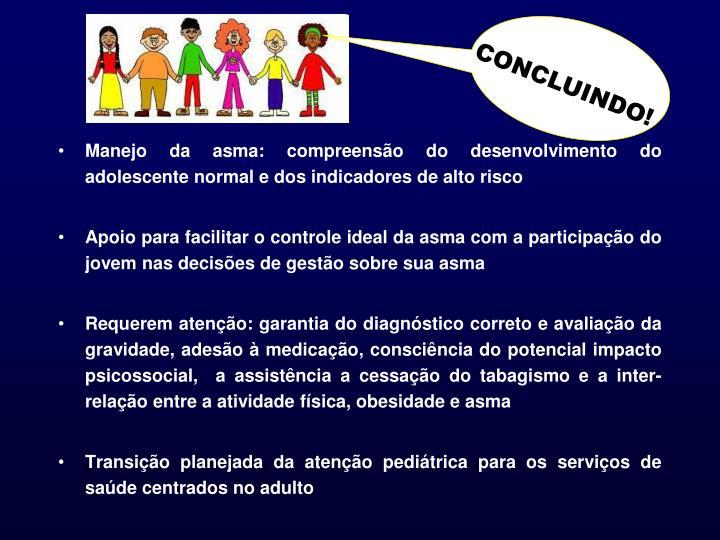CONCLUINDO!