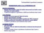 tromboprofilassi in gravidanza e puerperio2
