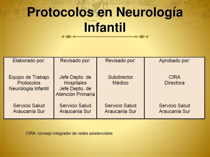 Protocolos en Neurología Infantil