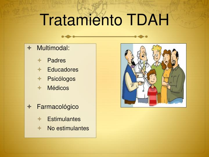 Tratamiento TDAH