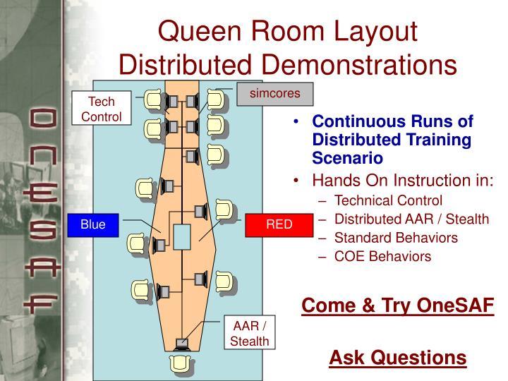 Queen Room Layout