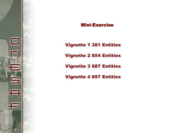 Mini-Exercise