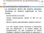 el asesoramiento al profesorado en la orientaci n educativa2