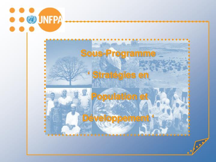 Sous-Programme