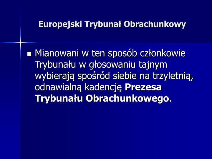 Europejski Trybunał Obrachunkowy