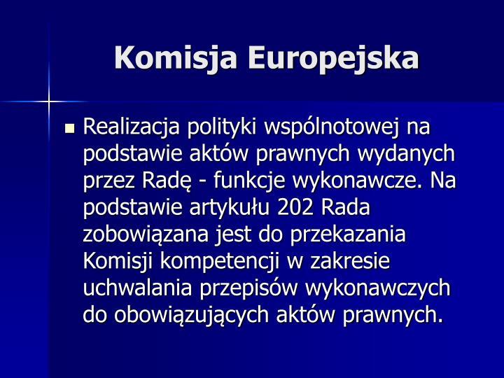 Komisja Europejska
