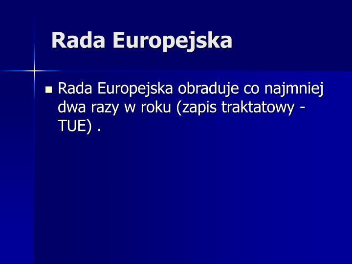 Rada Europejska