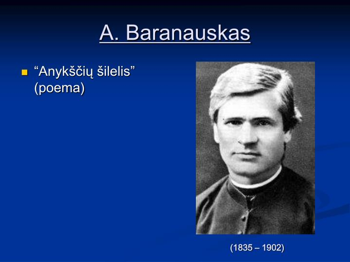 A. Baranauskas