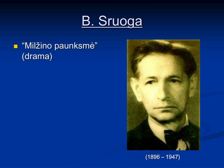 B. Sruoga