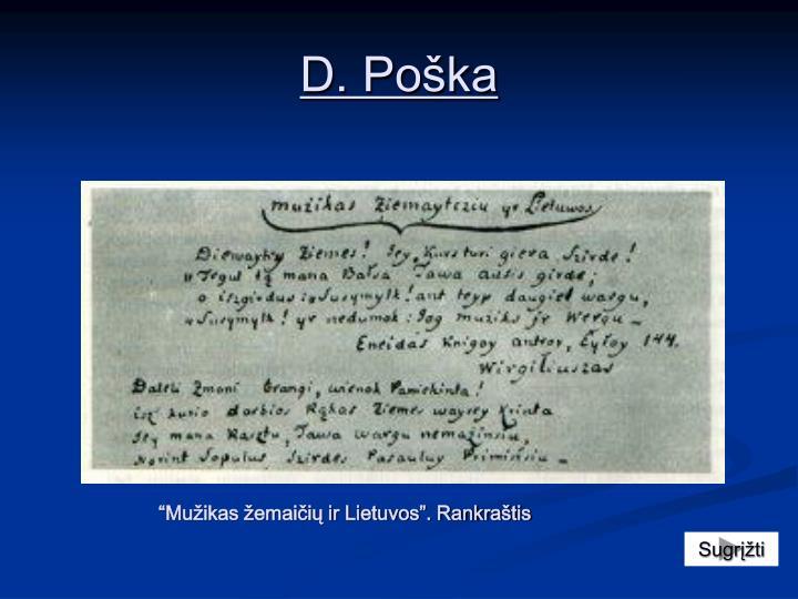 D. Poška