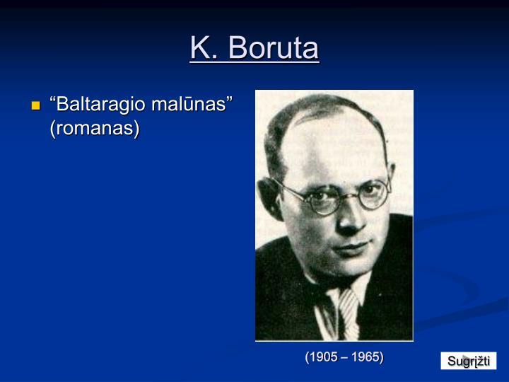 K. Boruta
