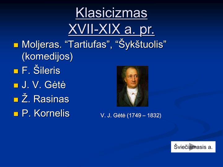 Klasicizmas