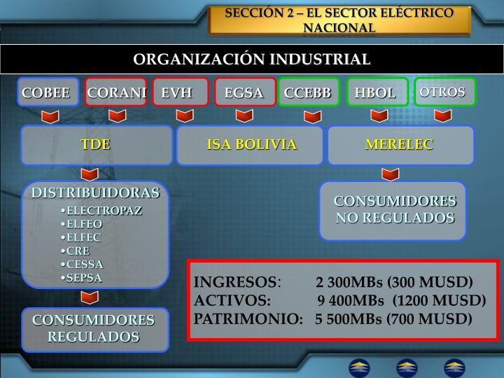 SECCIÓN 2 – EL SECTOR ELÉCTRICO NACIONAL