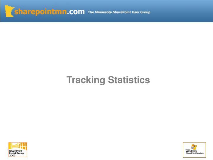 Tracking Statistics
