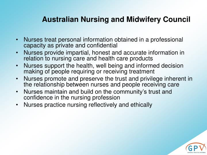 Australian Nursing and Midwifery Council