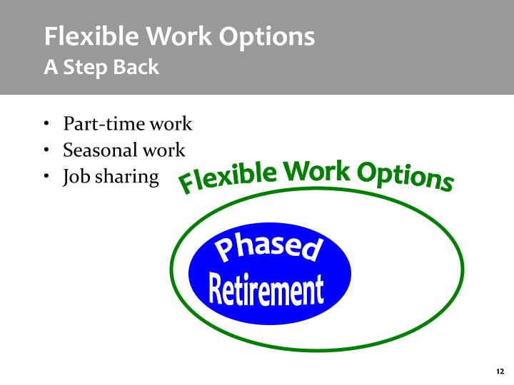 Flexible Work Options