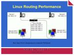 linux routing performance