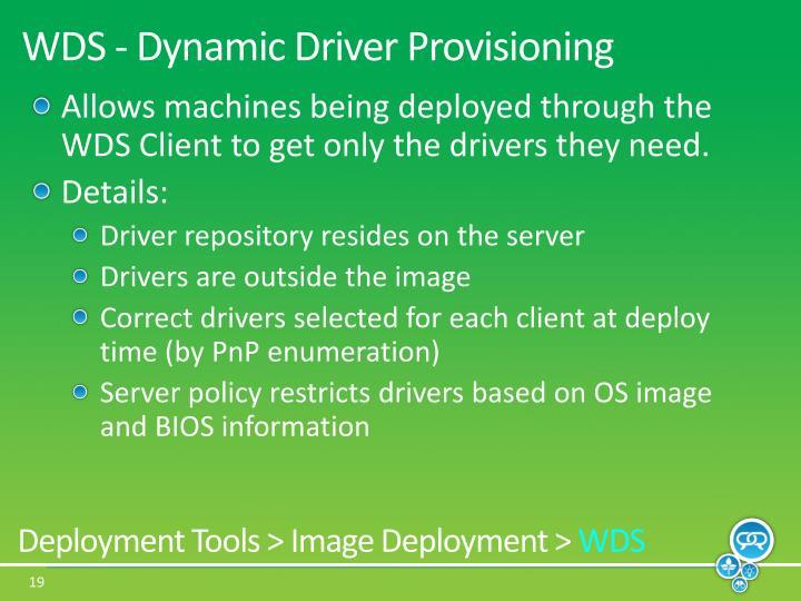 WDS - Dynamic
