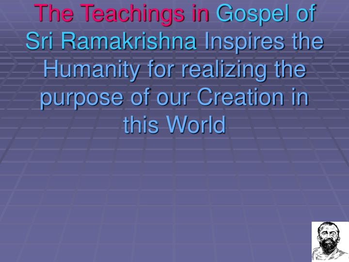 The Teachings in