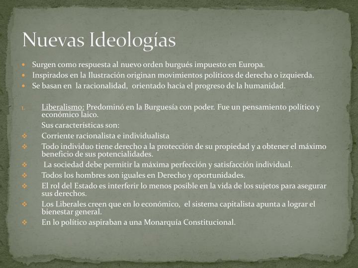Nuevas Ideologías