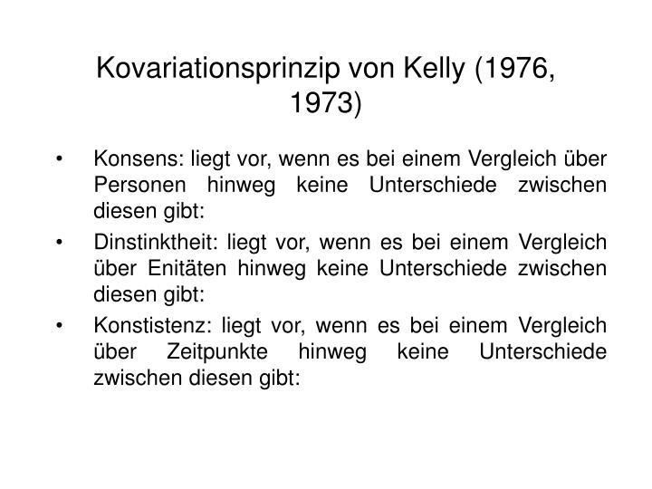 Kovariationsprinzip von Kelly (1976, 1973)