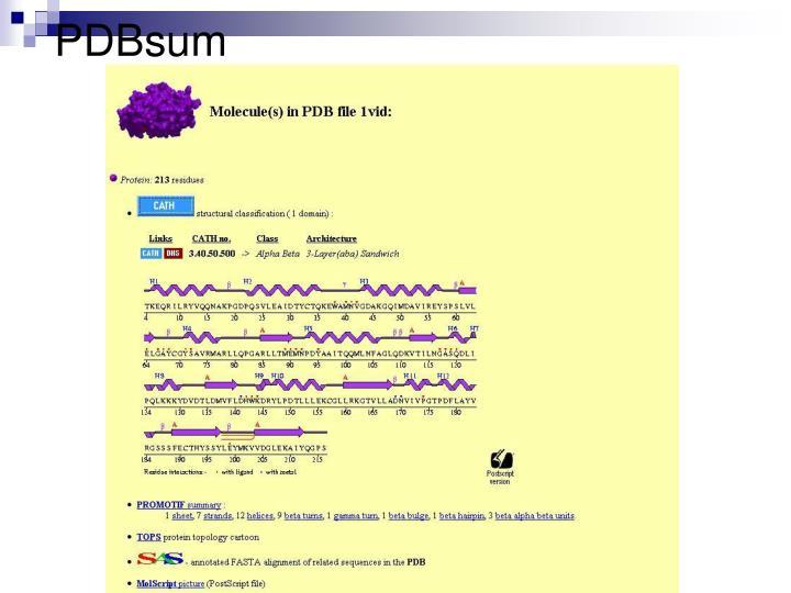 PDBsum