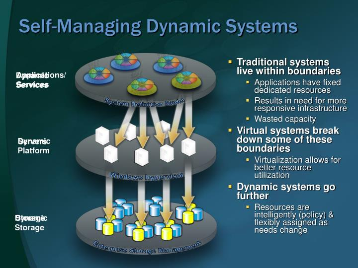 Self-Managing Dynamic Systems