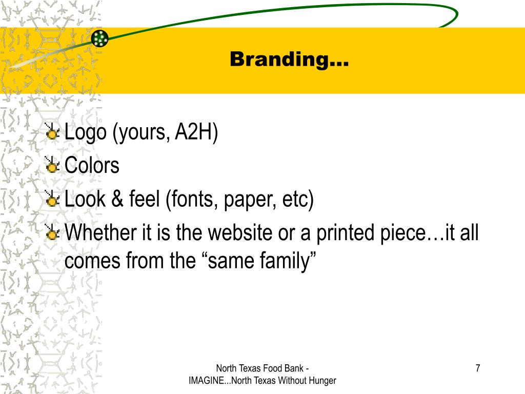 Branding…