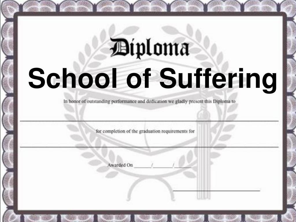 School of Suffering