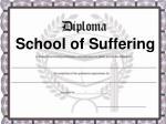 school of suffering