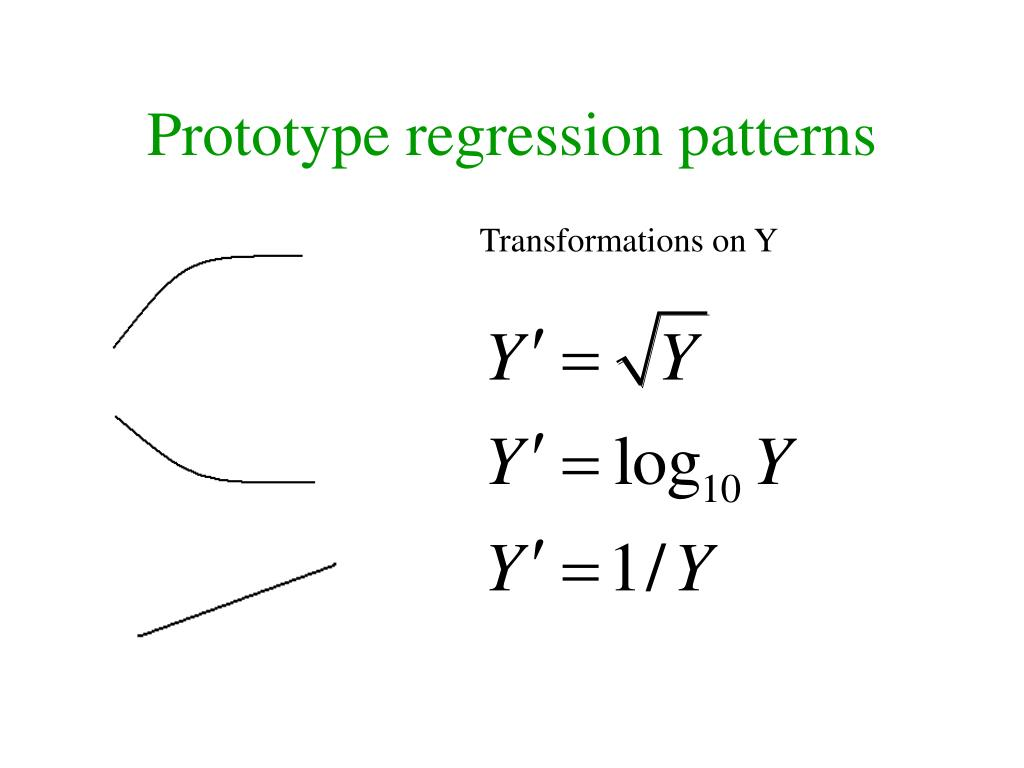Prototype regression patterns