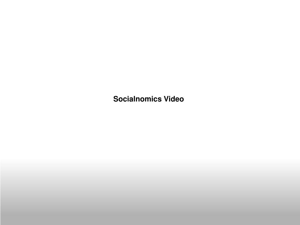 Socialnomics Video