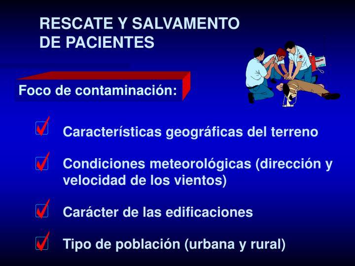 RESCATE Y SALVAMENTO