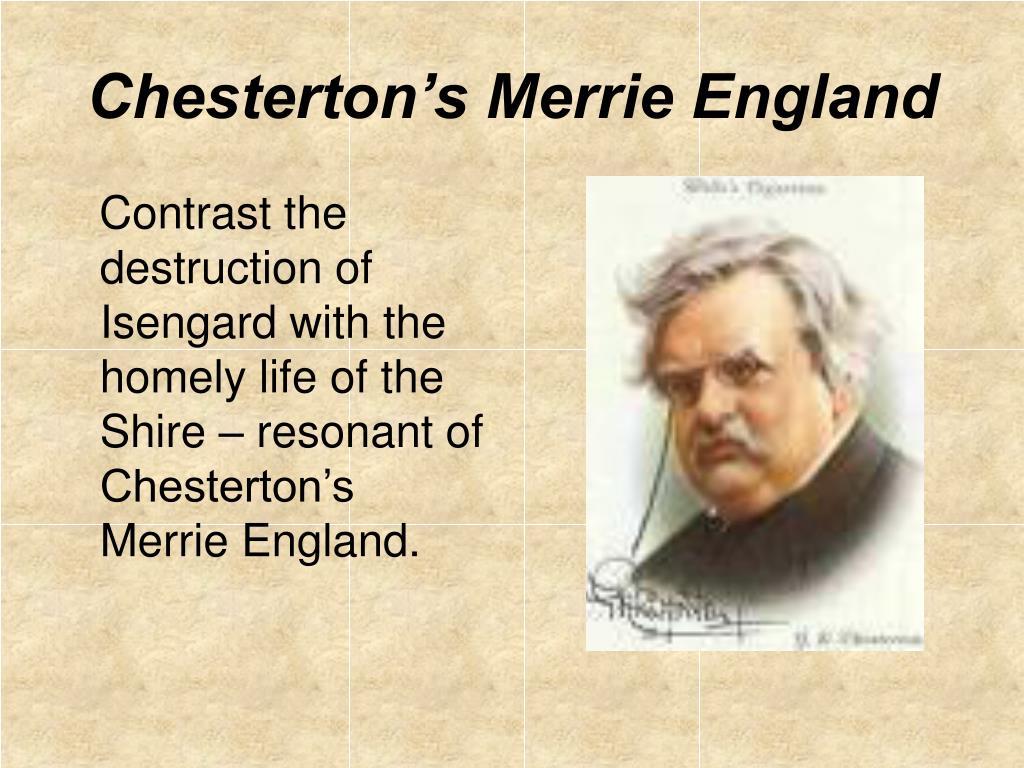 Chesterton's Merrie England