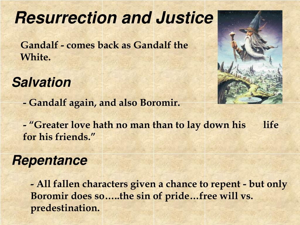Resurrection and Justice
