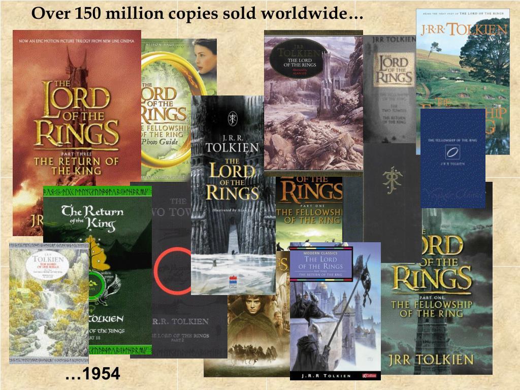 Over 150 million copies sold worldwide…