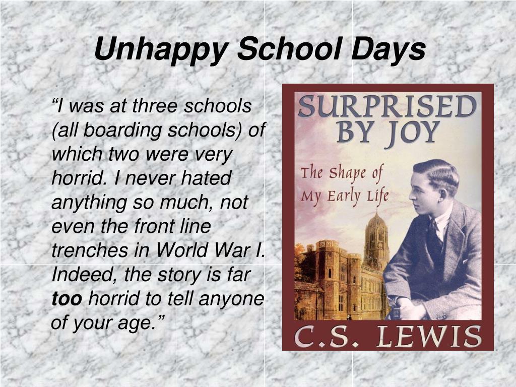 Unhappy School Days