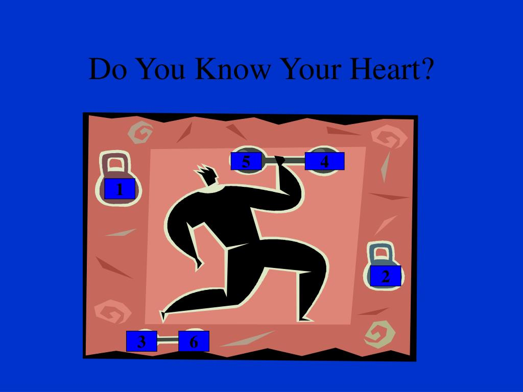 Do You Know Your Heart?