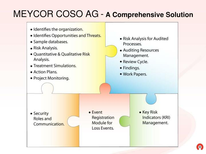 Meycor coso ag a comprehensive solution