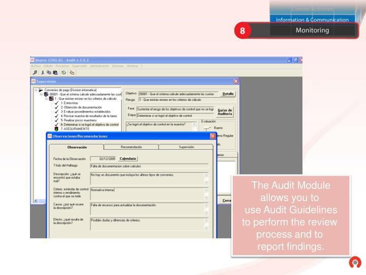 The Audit Module