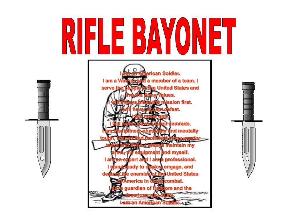 RIFLE BAYONET