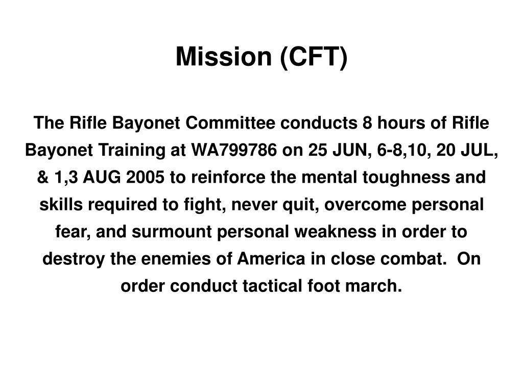 Mission (CFT)