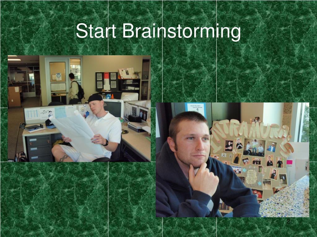 Start Brainstorming