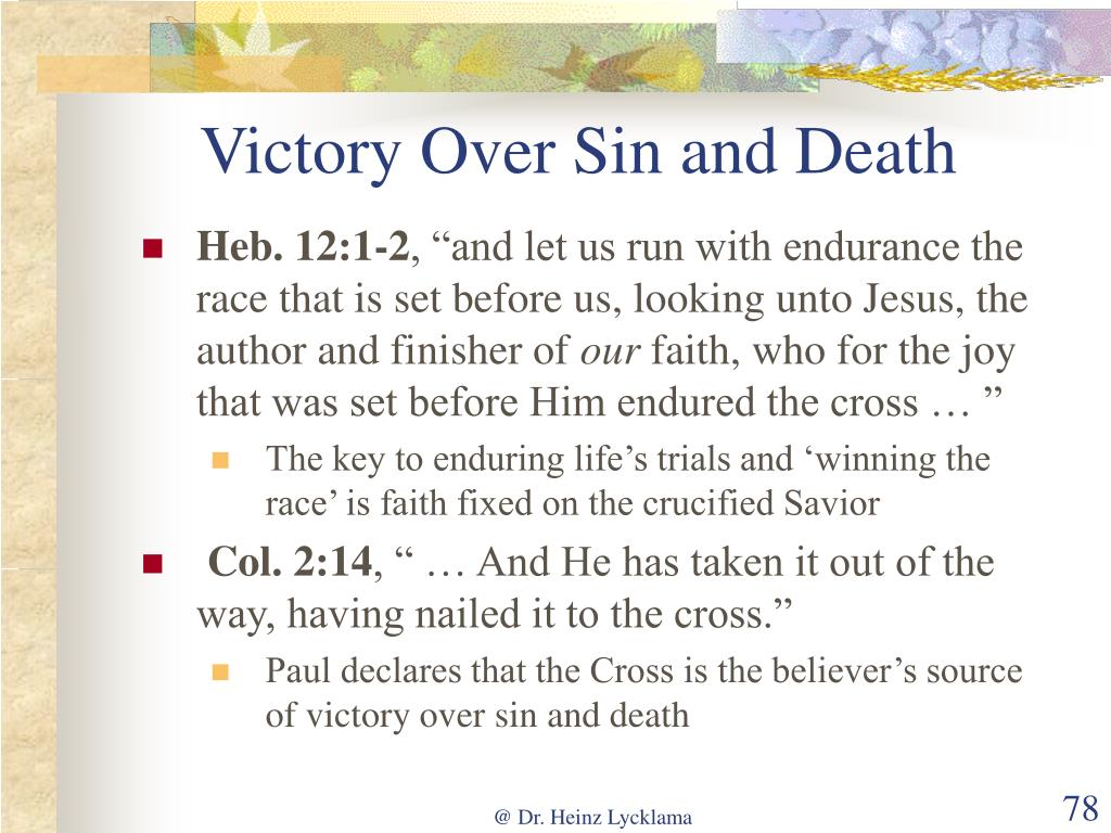 Victory Over Sin and Death