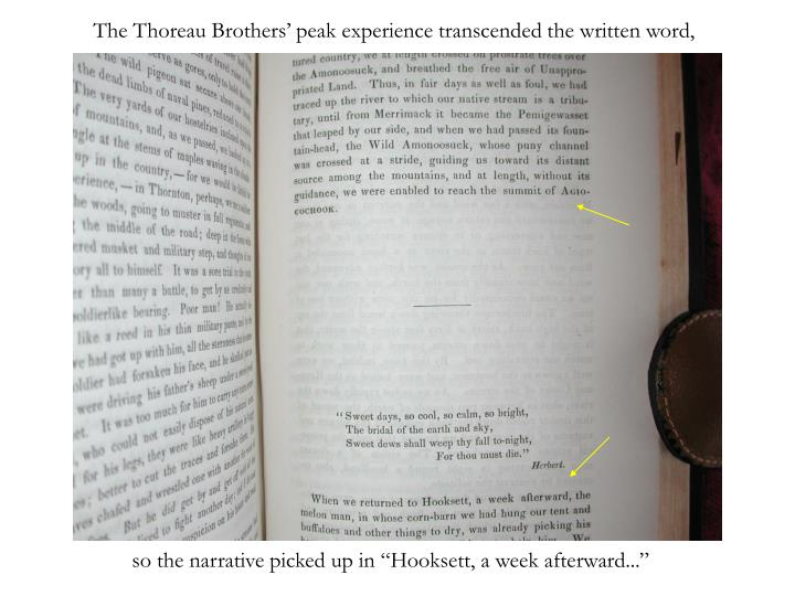The thoreau brothers peak experience transcended the written word l.jpg