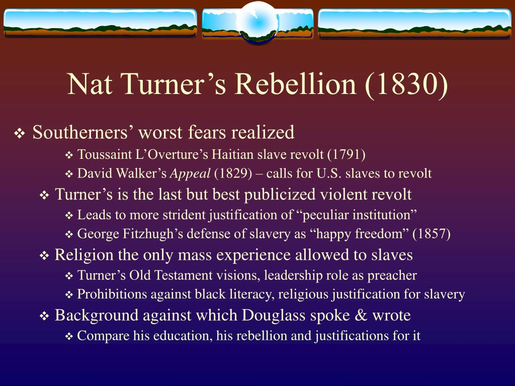 Nat Turner's Rebellion (1830)