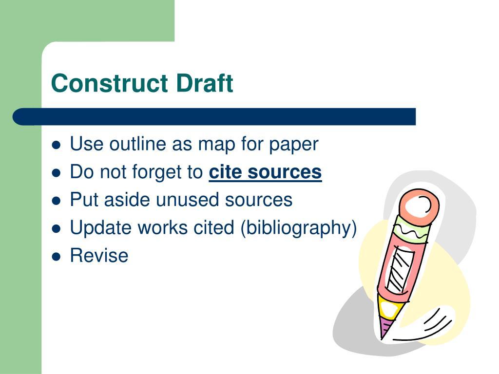 Construct Draft