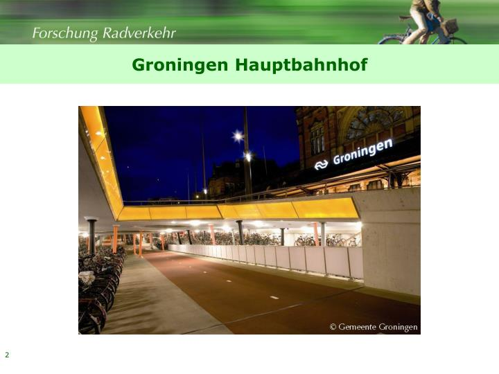 Groningen Hauptbahnhof